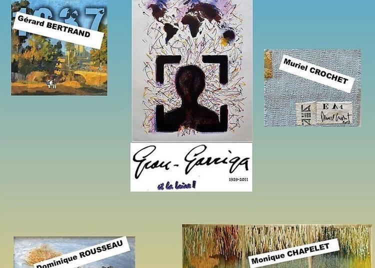 Hommage à Josep Grau-garriga à Saint Mathurin sur Loire