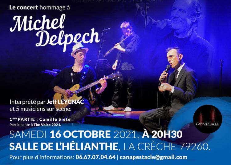 Hommage à Michel Delpech à La Creche