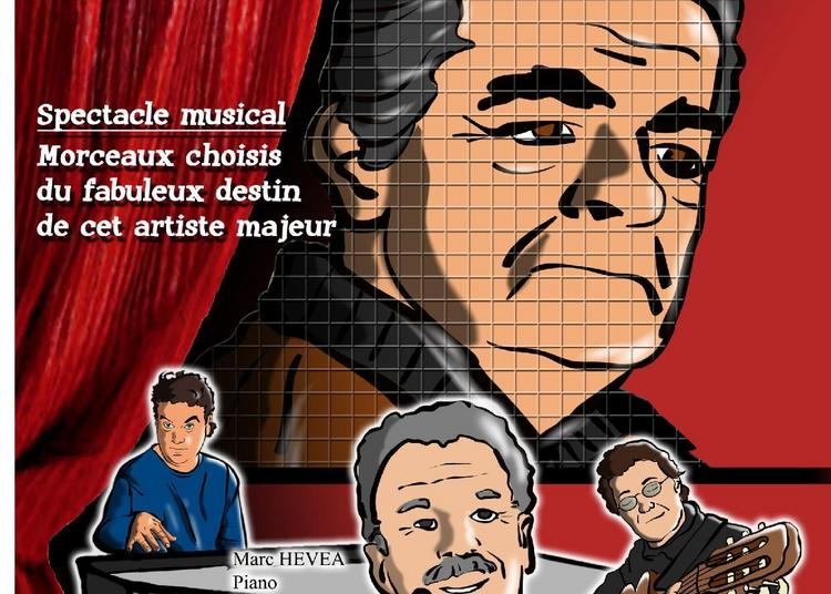 Hommage À Serge Reggiani à Perols