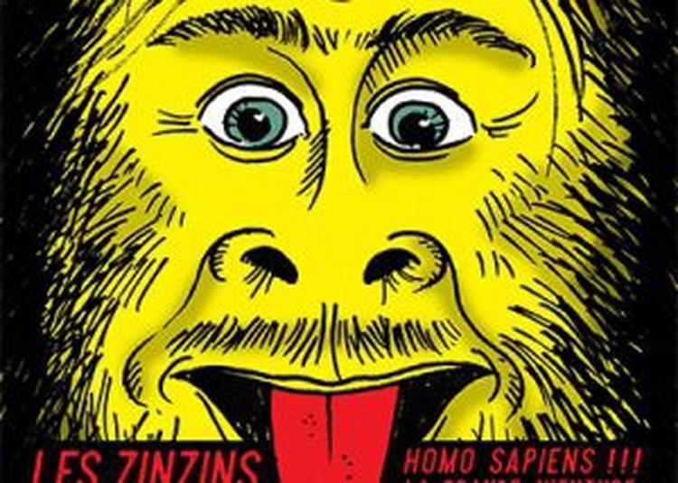 Homo Sapiens Par La Cie Les Zinzins à Annecy