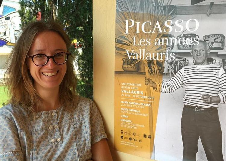 Hors-les-murs : Conférence Picasso à Vallauris, Au Rendez-vous Des Poètes à Biot