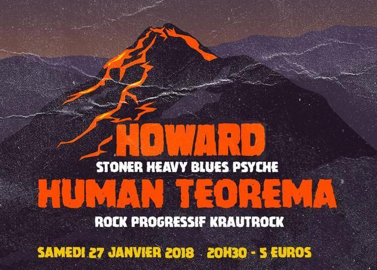 Howard &  Human Teorema à Paris 11ème