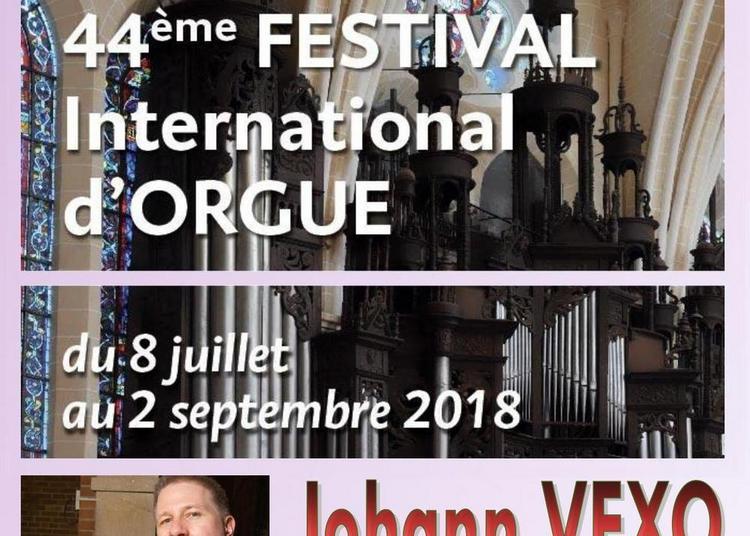 Johann vexo - 44e festival international d'orgue de chartres à Chartres