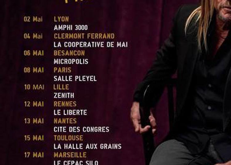 Iggy Pop à Paris 8ème