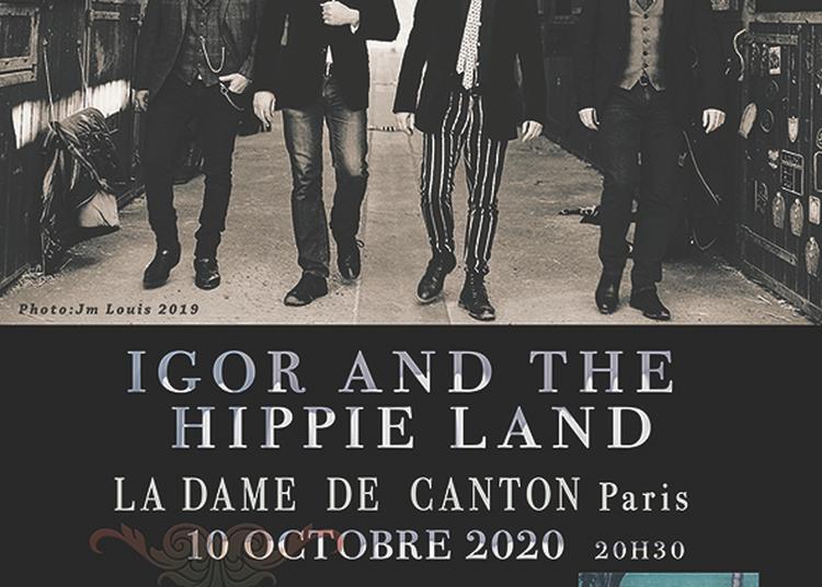 Igor And The Hippie Land à Paris 13ème