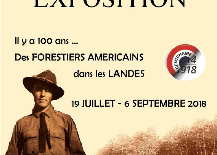 Il y a 100 ans...des Forestiers américains dans les Landes à Sanguinet