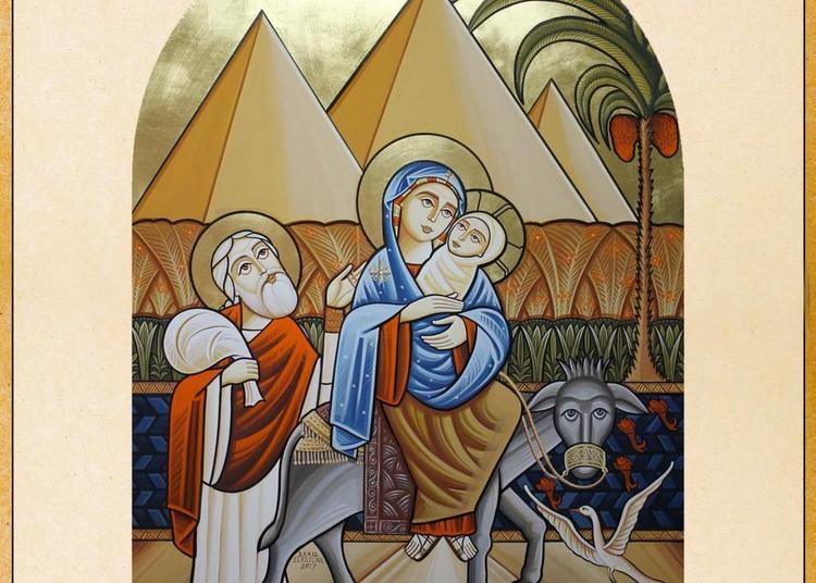 Exposition « Secrets d'icône copte » à Draveil