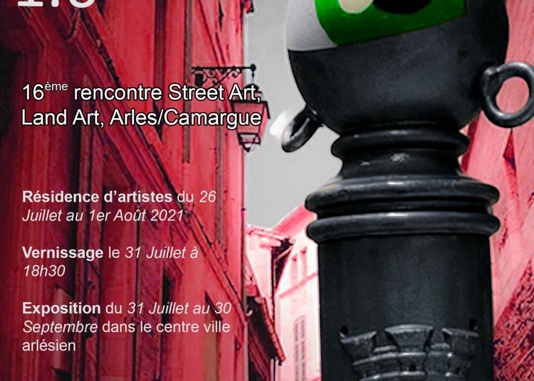 In Situ1.6: 16e Rencontre de création Street Art, Land Art. Arles/ Camargue.