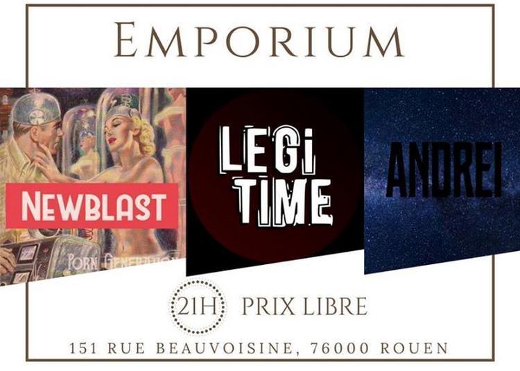 In The Basement #2 Newblast // Légitime // Andrei à Rouen