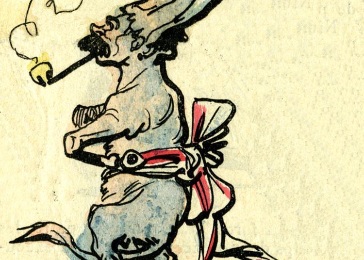 Inauguration De L'exposition La Caricature Raconte L'histoire De France à Nogent sur Marne