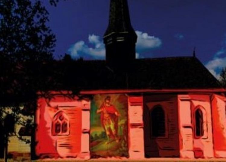 Inauguration De La «route De La Craie» : Projection Monumentale Sur L'église D'ormes à Ormes