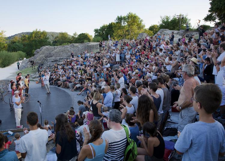 Inauguration Du Théâtre Antique D'alba-la-romaine Restauré à Alba la Romaine