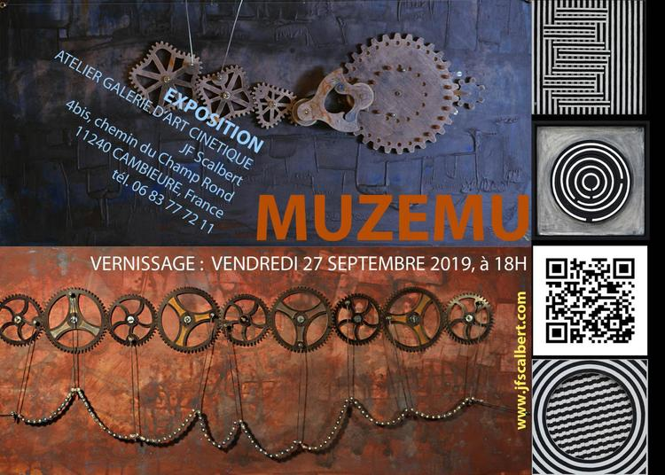 Inauguration et vernissage d'une galerie d'art cinétique à Cambieure
