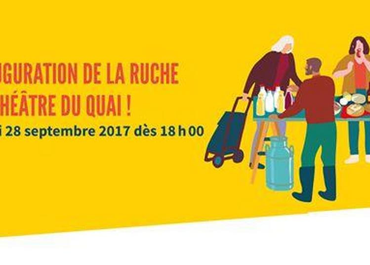 Inauguration La Ruche Du Quai à Angers