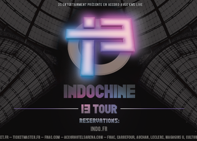 Indochine à Clermont Ferrand