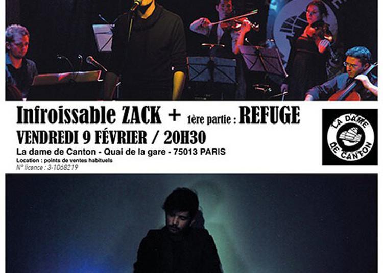 Infroissable Zack à Paris 13ème