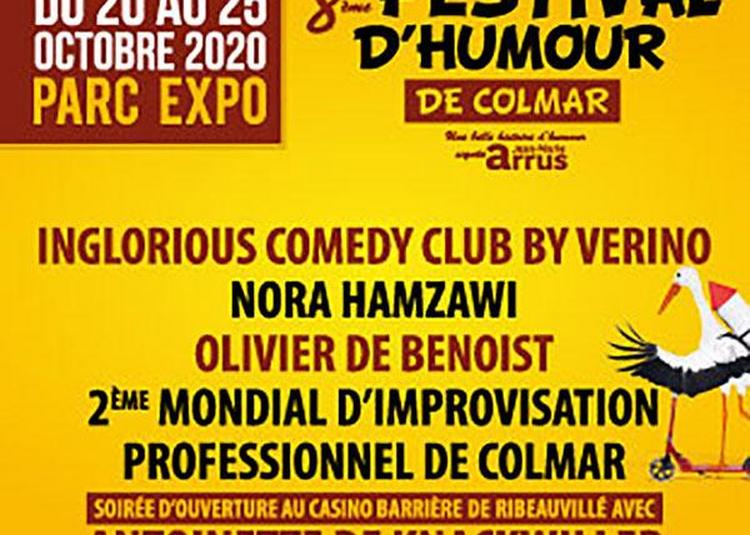 Inglorious Comedy Club à Colmar