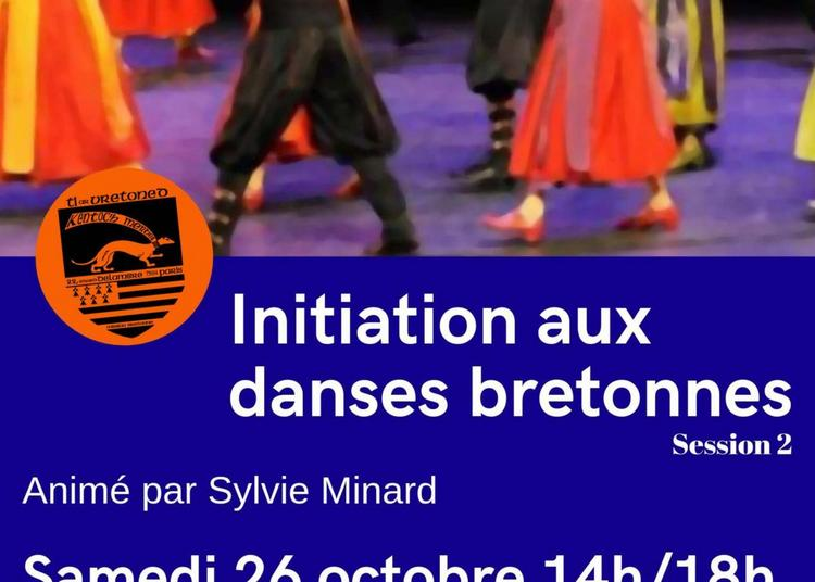 Initiation à la danse bretonne à Paris 14ème