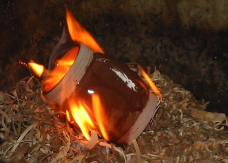 Initiations Et Démonstrations à La Cuisson Raku à Malicorne sur Sarthe