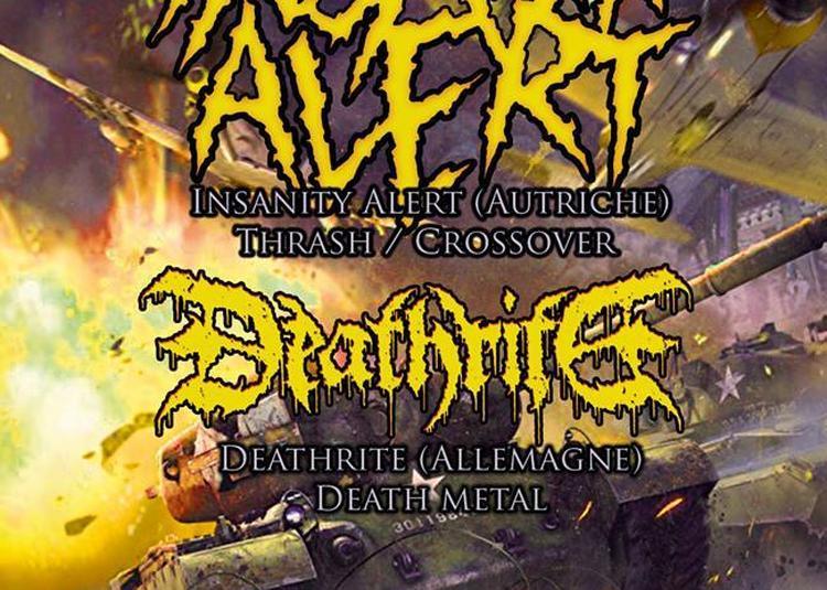 Insanity Alert o Deathrite o Blackened à Paris 1er