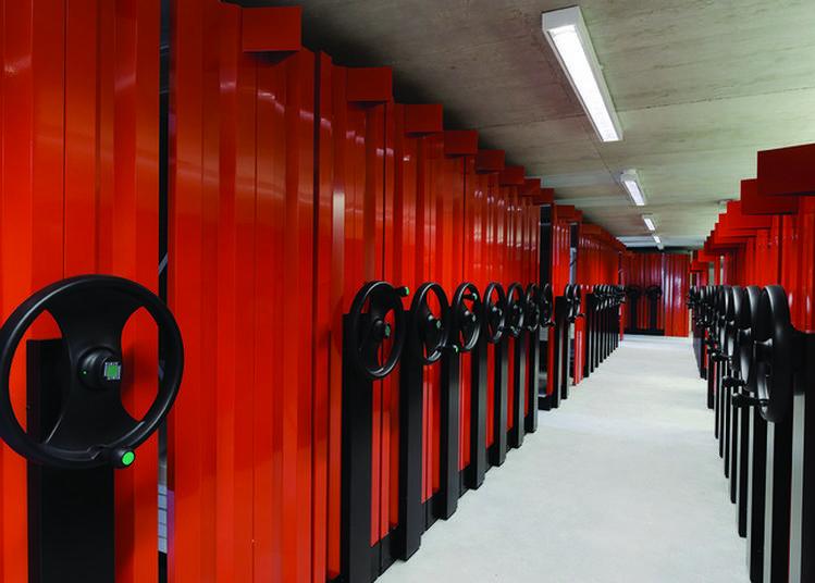 Inside Bnu (les Bureaux, Les Ateliers Et Les Magasins) à Strasbourg