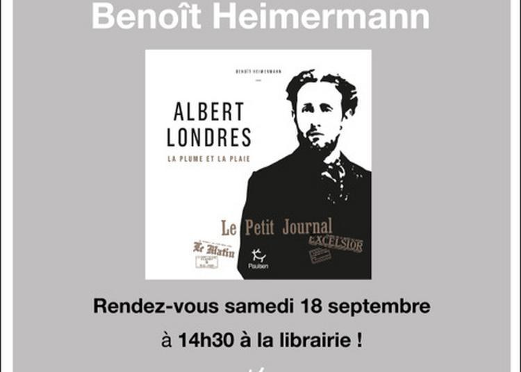 Animation autour du livre de Benoît Heimermann sur Albert Londres à Vichy