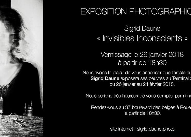 Invisibles inconscients - Expotion photographique multimédia interactive à Rouen
