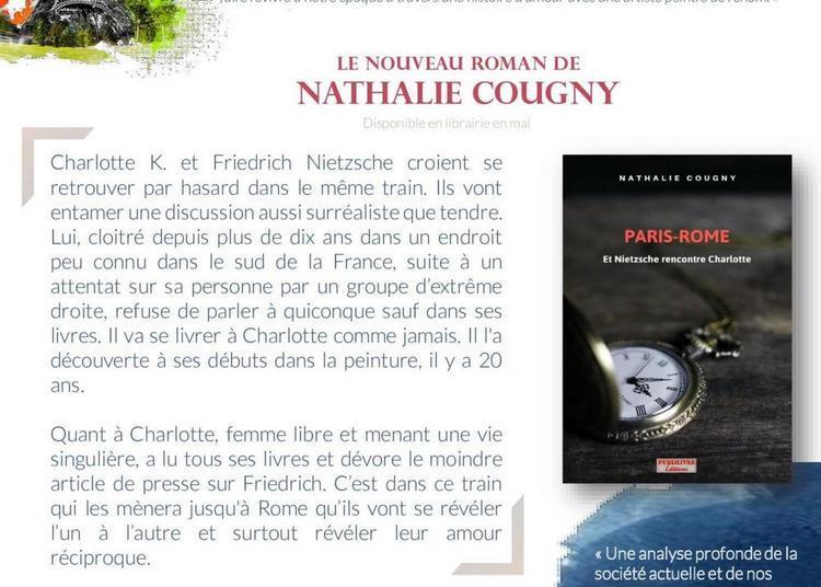Signature - Paris-Rome et Nietzsche rencontre Charlotte à Paris 6ème