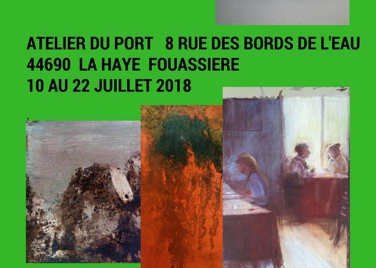Invitation à une balade artistique à l'atelier du port. La sèvre nantaise à La Haie Fouassière. à La Haie Fouassiere