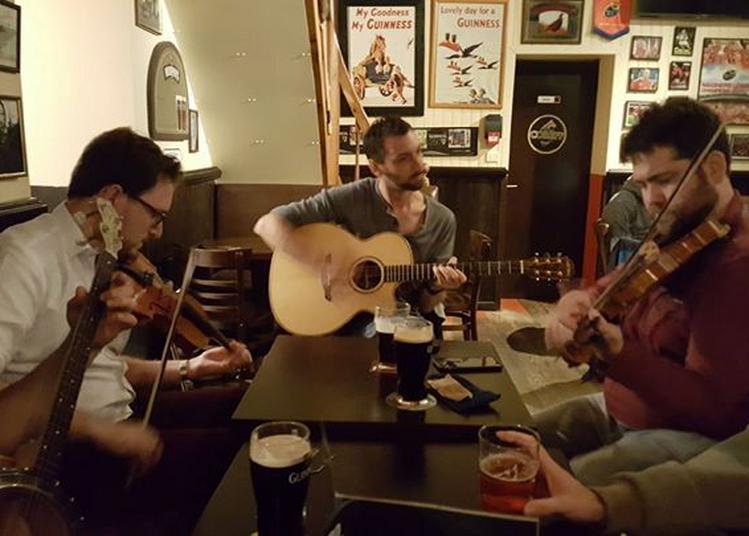 Irish Music Session at Dé Dannan à Nantes