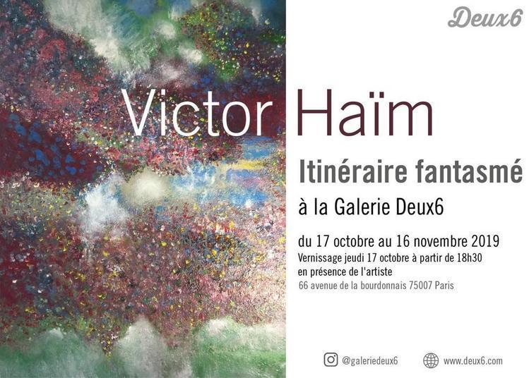 Itinéraire Fantasmé // Victor Haïm à Paris 7ème