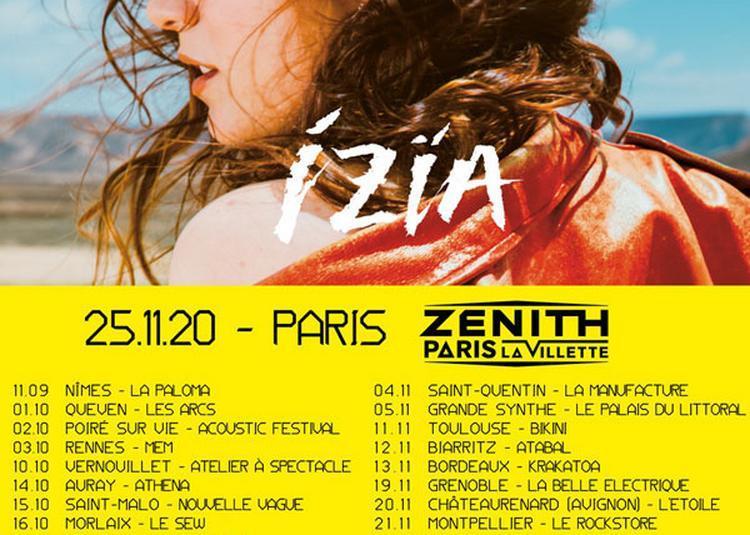 Izia - Première Partie à Saint Malo