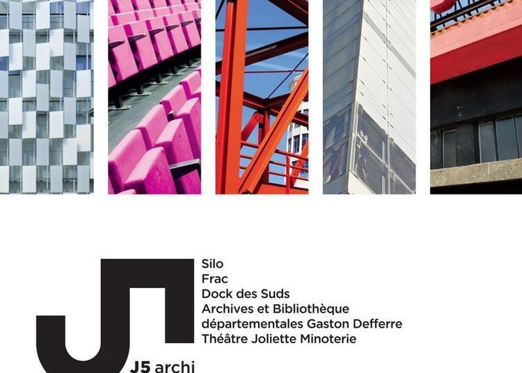 J5 : Parcours Architectural Et Culturel Dans Le Quartier Joliette-arenc Iv à Marseille