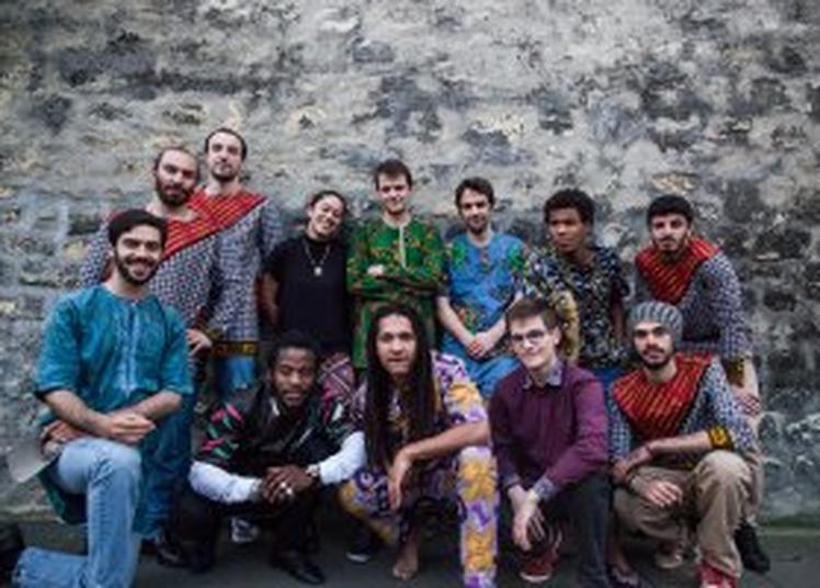 Jack Sele Ngosso + Monkuti Orchestra à Paris 14ème