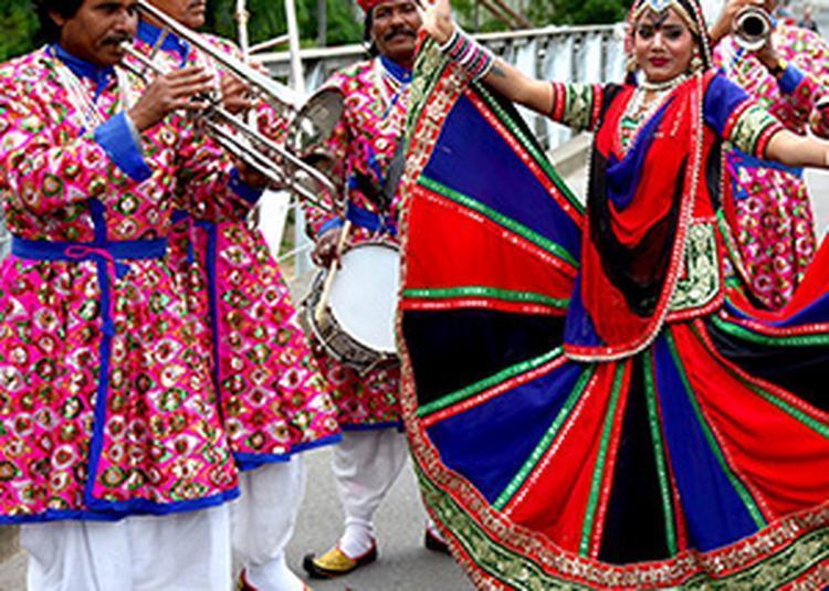 Jaipur Maharaja Brass Band à Barraux