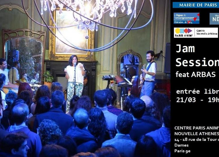 Jam session feat. ARBAS à Paris 9ème