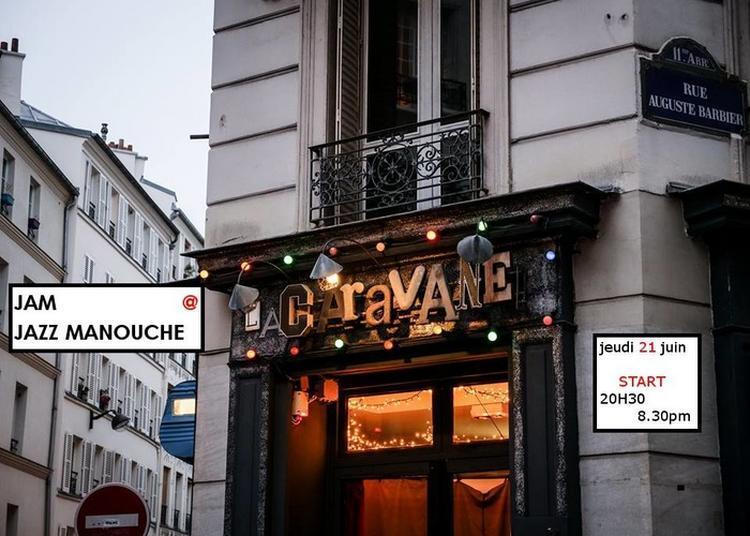 Jam Session - Jazz Manouche à Paris 11ème