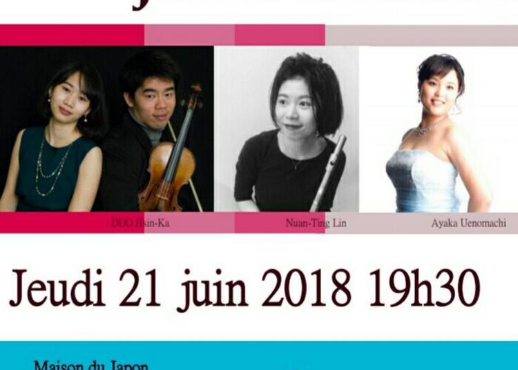 Japon - Taiwan Duo Concert à Paris 14ème