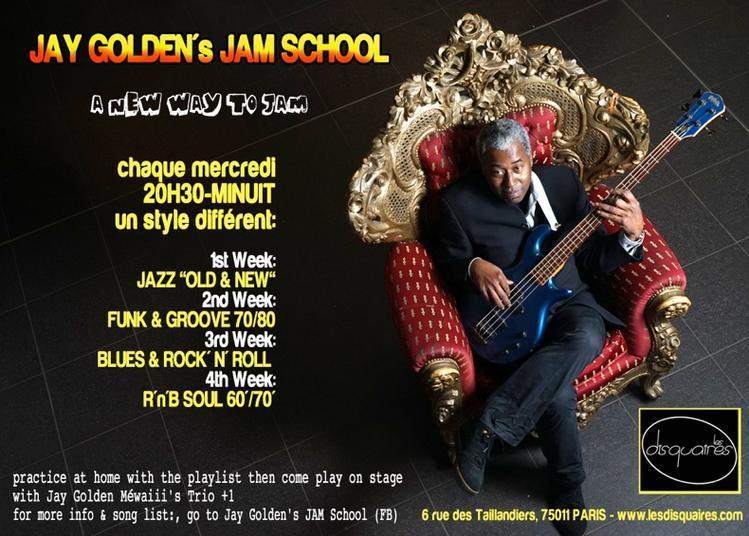 Jay Golden'S Jam School - Rock / Blues / Rock&Roll Night - à Paris 11ème