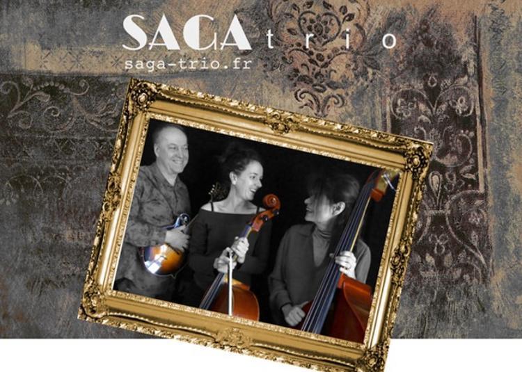 Jazz en trio banjo basse violoncelle guitares à Domange à Ige