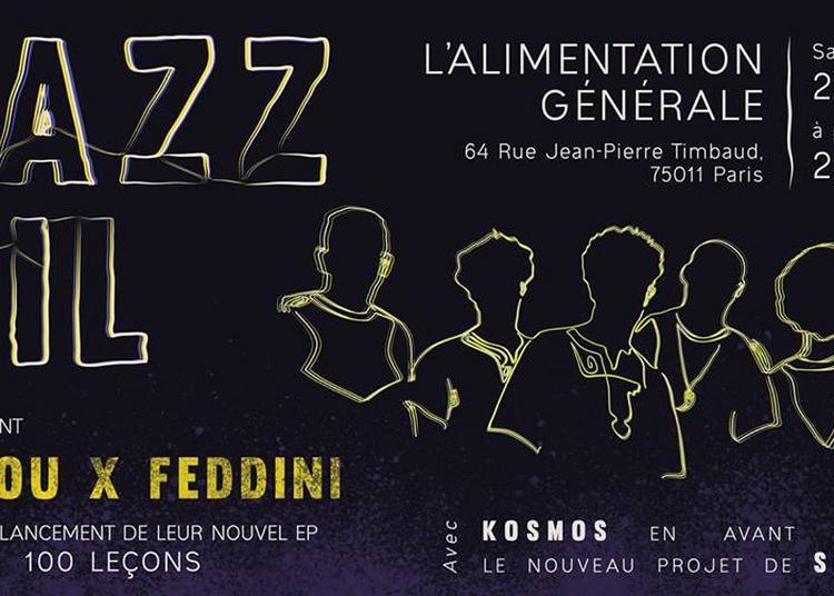 Jazz Oil, Madou X Feddini Et Simarek à Paris 11ème