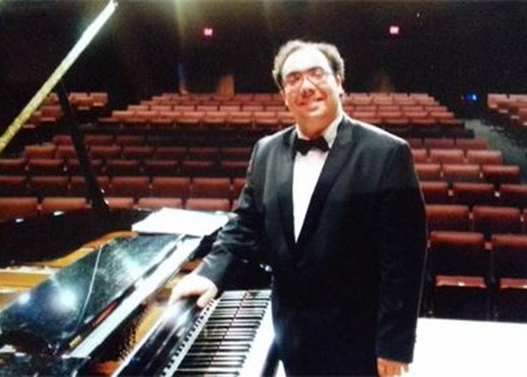 Concert du pianiste Jean Dubé Sainte Pexine, Les Pianos de l'été.