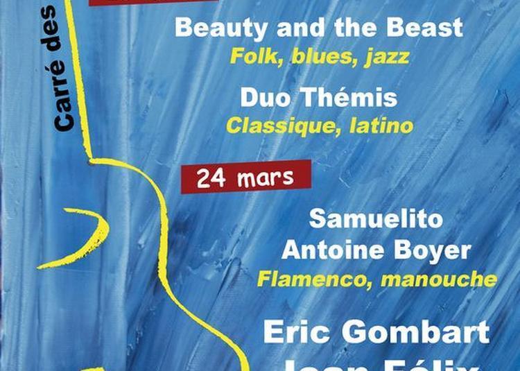Jean Félix Lalanne, Antoine Boyer et Eric Gombart à Saint Medard en Jalles