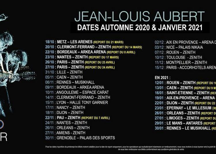 Jean-Louis Aubert - report à Rouen