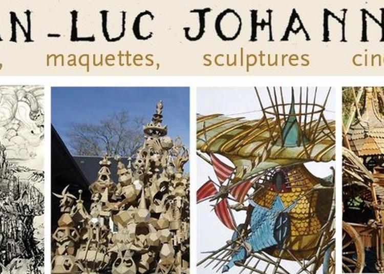 Jean Luc Johannet, Dessins, Maquettes, Sculptures Cinétiques à Neuvy Deux Clochers