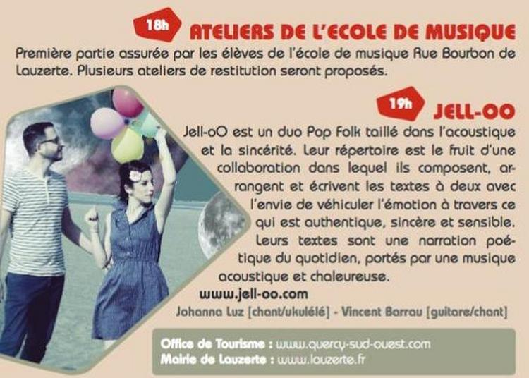 Jell-oo En Concert à Lauzerte