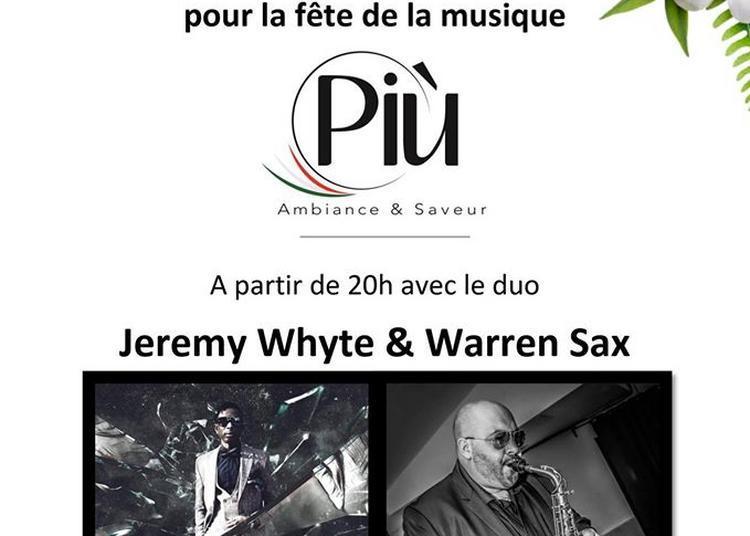 Jeremy Whyte et Warren Sax à Marseille