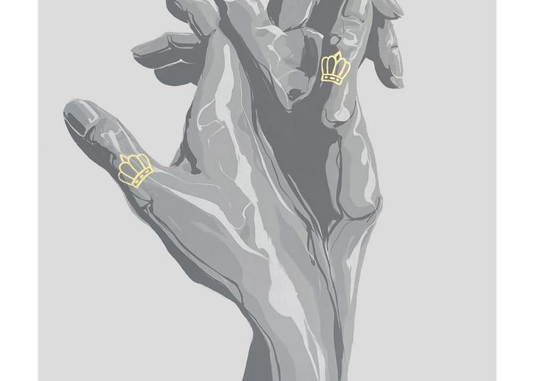 « Jeux de mains », première exposition solo de MAHN KLOIX à Paris 11ème