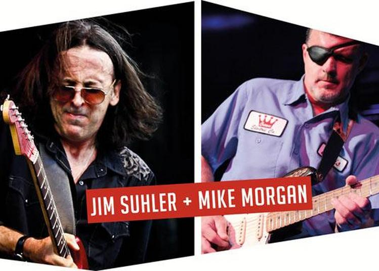 Jim Sulher + Mike Morgan + The Ride à Tremblay en France