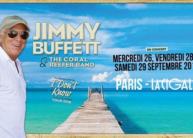 Jimmy Buffett & The Coral Reefer Band à Paris 18ème